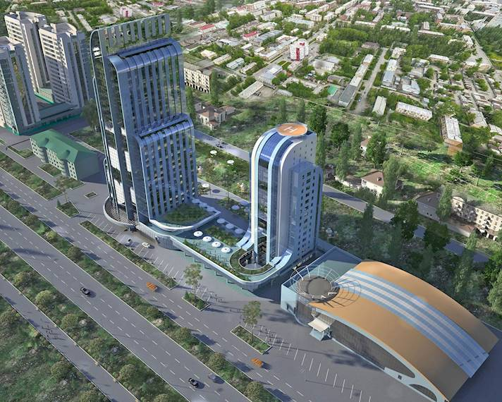 ЖК Sofia Towers